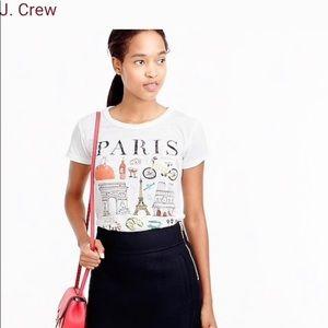 J. crew Paris Destination Art Collectors tee